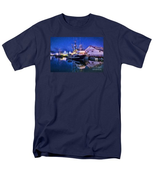 Fish Boats Men's T-Shirt  (Regular Fit) by Jim  Hatch