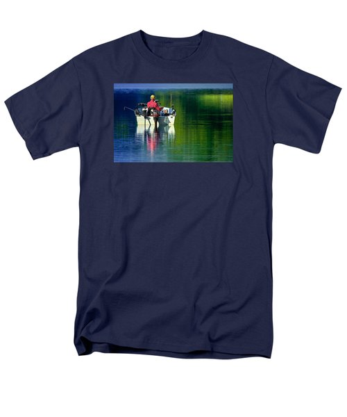 Fishing And Wishing 2 Men's T-Shirt  (Regular Fit) by Brian Stevens