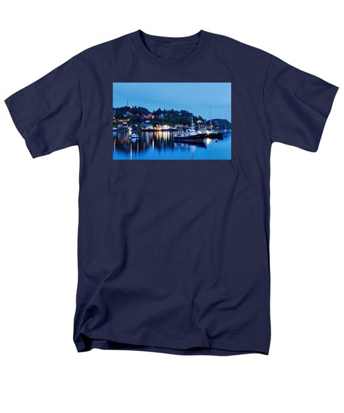 Fishing Boats Of Orban Men's T-Shirt  (Regular Fit) by Robert Charity