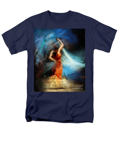 Flamencoscape 05 Men's T-Shirt  (Regular Fit) by Miki De Goodaboom