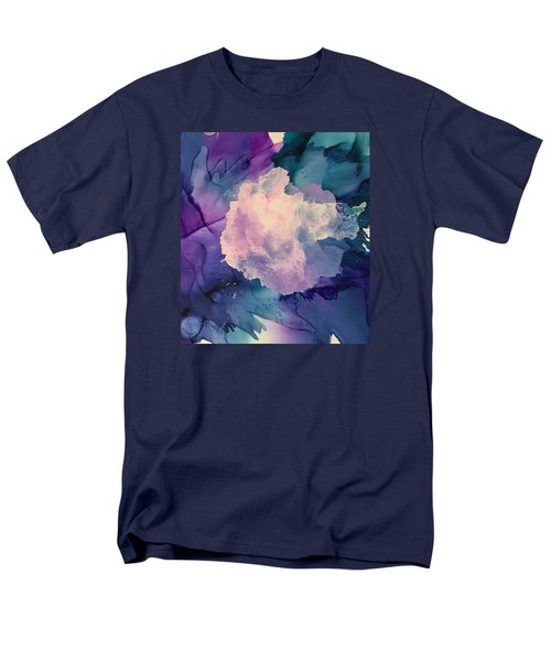 Men's T-Shirt  (Regular Fit) featuring the painting Floral Abstract by Suzanne Canner