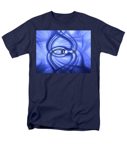 Fluid Blue Men's T-Shirt  (Regular Fit) by Carolyn Marshall