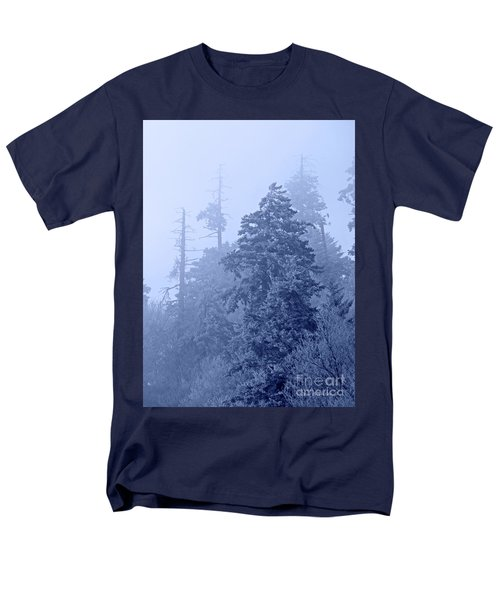Men's T-Shirt  (Regular Fit) featuring the photograph Fog On The Mountain by John Stephens