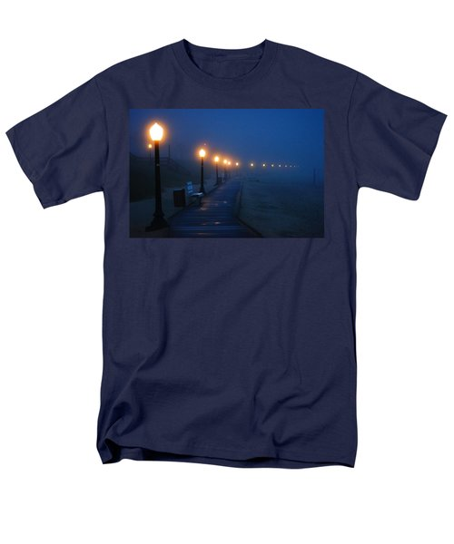 Foggy Boardwalk Blues Men's T-Shirt  (Regular Fit)