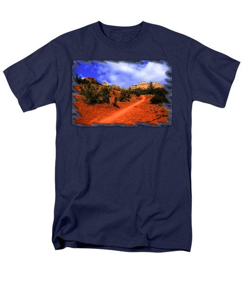 Follow Me Men's T-Shirt  (Regular Fit) by Mark Myhaver