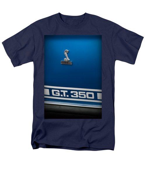 Ford Mustang G.t. 350 Cobra Men's T-Shirt  (Regular Fit) by Gordon Dean II
