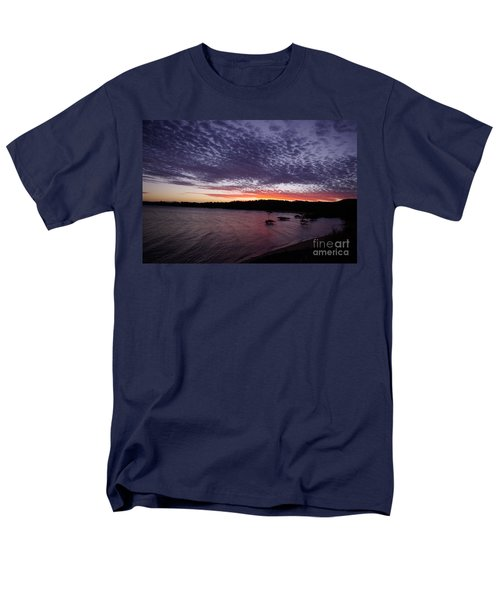 Men's T-Shirt  (Regular Fit) featuring the photograph Four Elements Sunset Sequence 7 Coconuts Qld  by Kerryn Madsen - Pietsch