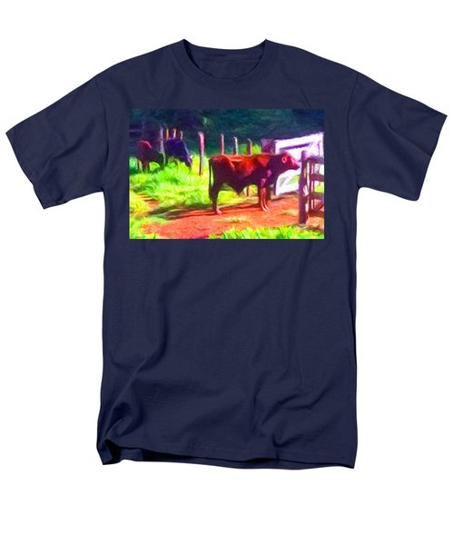 Franca Cattle 2 Men's T-Shirt  (Regular Fit) by Caito Junqueira