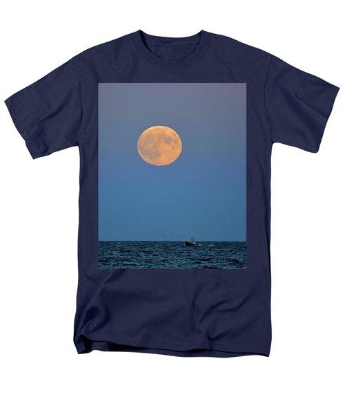Full Blood Moon Men's T-Shirt  (Regular Fit) by Nancy Landry