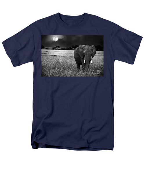 Full Moon Night Men's T-Shirt  (Regular Fit) by Charuhas Images