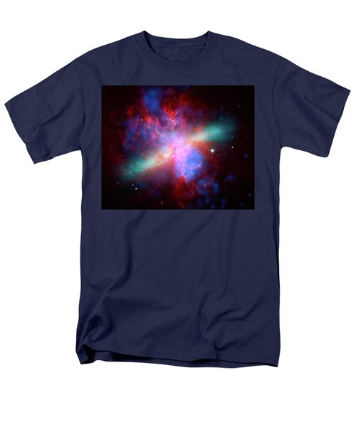 Men's T-Shirt  (Regular Fit) featuring the photograph Galaxy M82 by Marco Oliveira