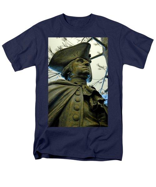 General George Washington Men's T-Shirt  (Regular Fit) by LeeAnn McLaneGoetz McLaneGoetzStudioLLCcom