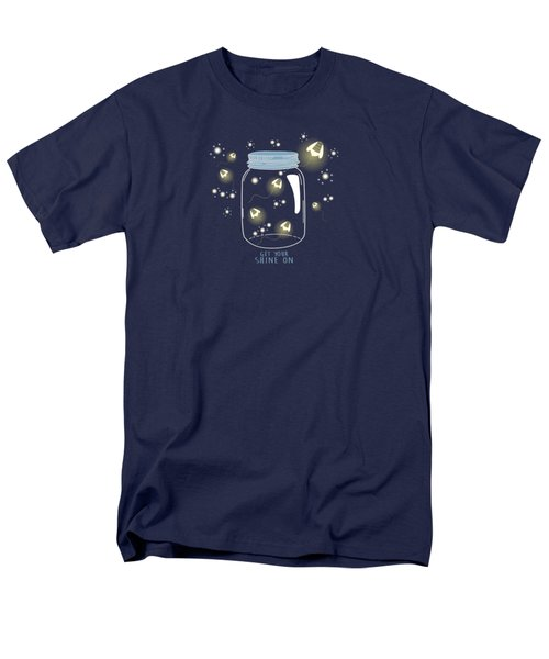 Men's T-Shirt  (Regular Fit) featuring the digital art Get Your Shine On by Heather Applegate