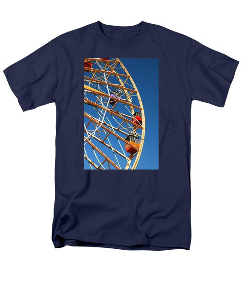 Men's T-Shirt  (Regular Fit) featuring the photograph Giant Wheel by James Kirkikis