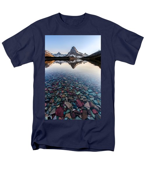 Men's T-Shirt  (Regular Fit) featuring the photograph Glacier Skittles by Aaron Aldrich