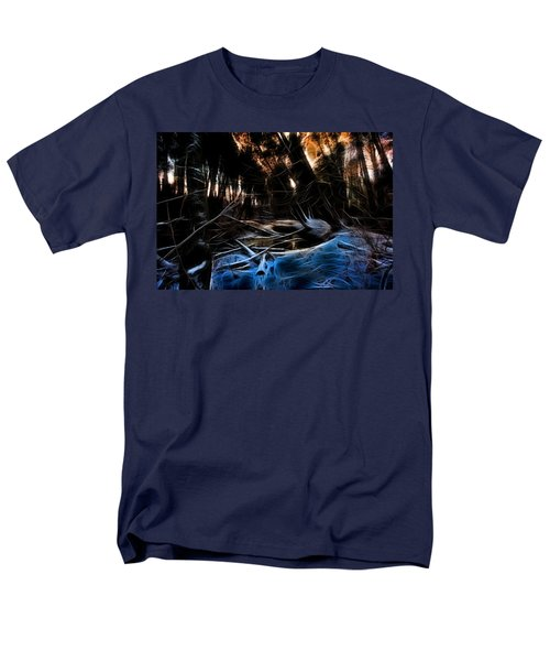 Glow River Men's T-Shirt  (Regular Fit) by Michaela Preston