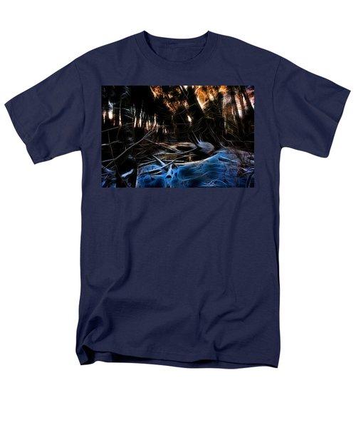 Glow River Men's T-Shirt  (Regular Fit)