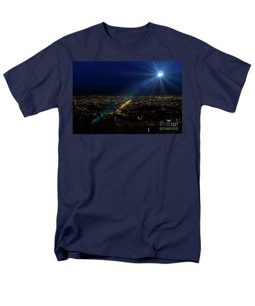 God Loves Cuenca Men's T-Shirt  (Regular Fit) by Al Bourassa