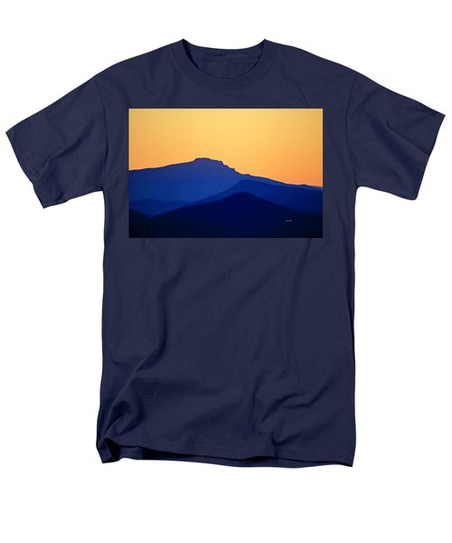 Grandfather Sunset Men's T-Shirt  (Regular Fit) by Dale R Carlson
