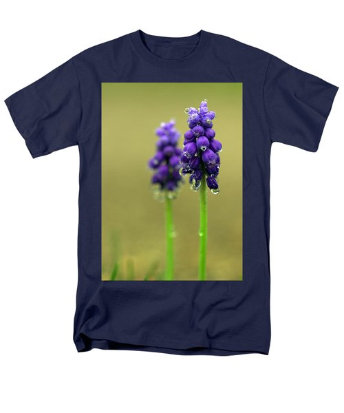 Grape Hyacinth Men's T-Shirt  (Regular Fit) by Joseph Skompski