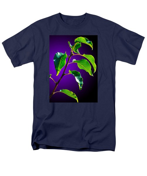 Green Leaves Men's T-Shirt  (Regular Fit) by Brian Stevens