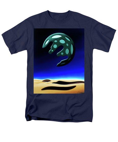 Green Moon Rising Men's T-Shirt  (Regular Fit)