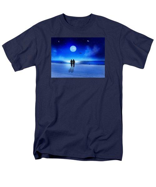 Night Blessings Men's T-Shirt  (Regular Fit) by Bernd Hau