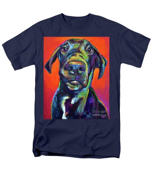 Handsome Hank Men's T-Shirt  (Regular Fit) by Robert Phelps