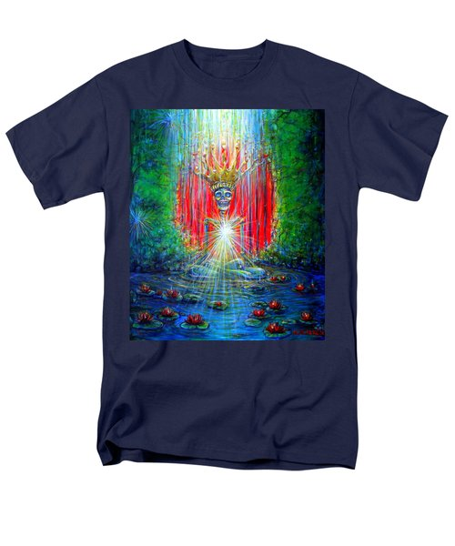 Healing Waters Men's T-Shirt  (Regular Fit) by Heather Calderon