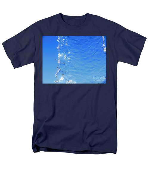 Men's T-Shirt  (Regular Fit) featuring the photograph Waterfall by Ray Shrewsberry
