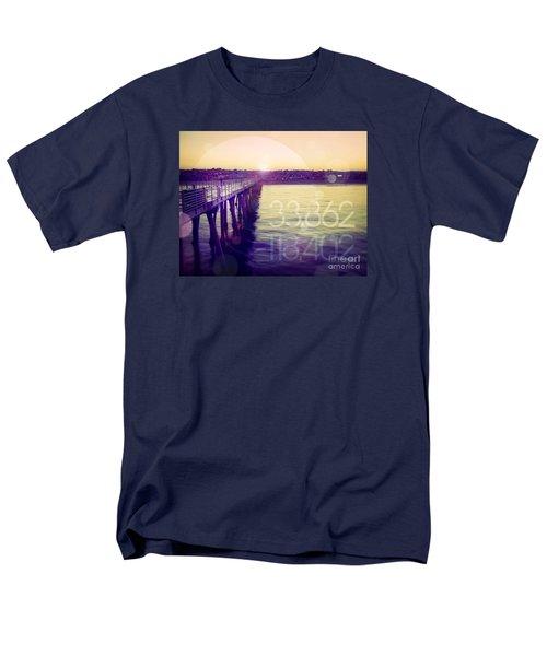 Men's T-Shirt  (Regular Fit) featuring the photograph Hermosa Beach California by Phil Perkins