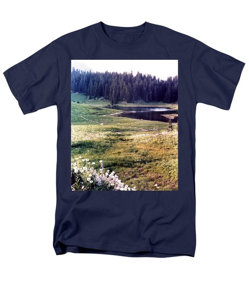 Hidden Valley Men's T-Shirt  (Regular Fit)