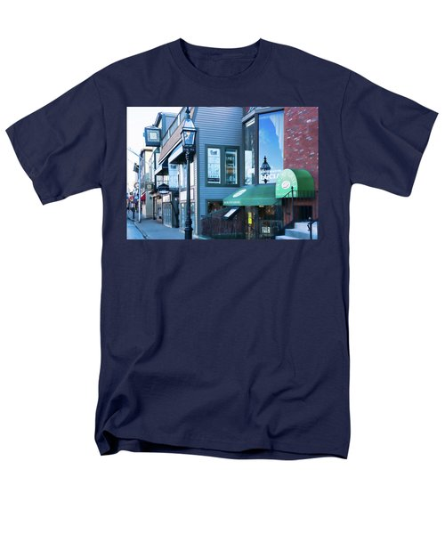 Historic Newport Buildings Men's T-Shirt  (Regular Fit) by Nancy De Flon
