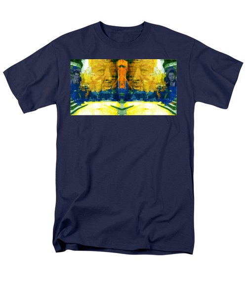 Homage To Sir Alfred Men's T-Shirt  (Regular Fit) by Seth Weaver