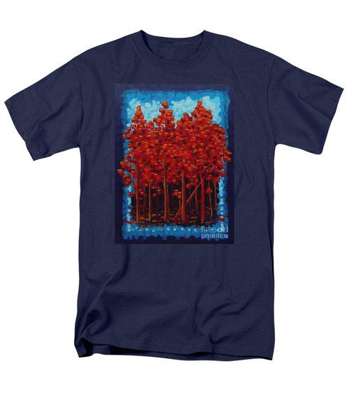 Hot Reds Men's T-Shirt  (Regular Fit)