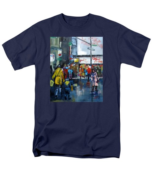 Hurry Men's T-Shirt  (Regular Fit) by Barbara O'Toole