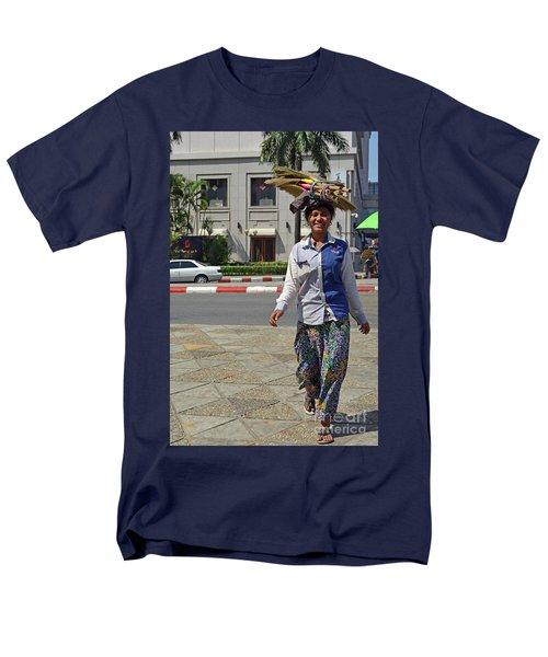 Men's T-Shirt  (Regular Fit) featuring the digital art I Can Balance by Eva Kaufman