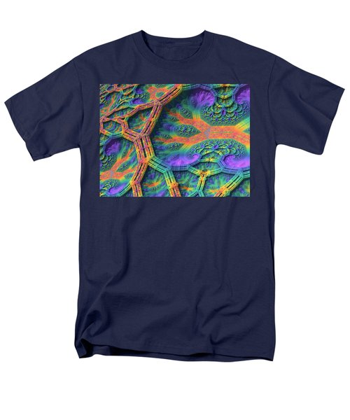 Men's T-Shirt  (Regular Fit) featuring the digital art I Don't Do Drugs, Just Fractals by Lyle Hatch