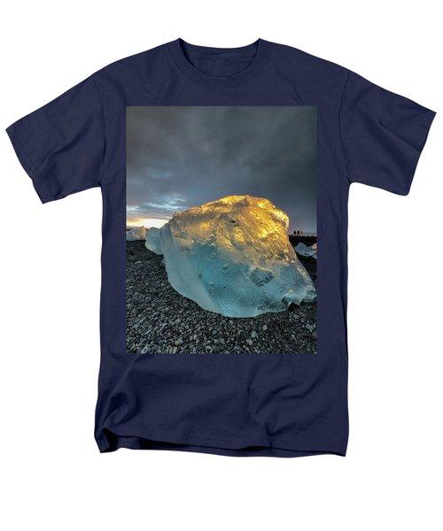 Ice Fish Men's T-Shirt  (Regular Fit) by Allen Biedrzycki