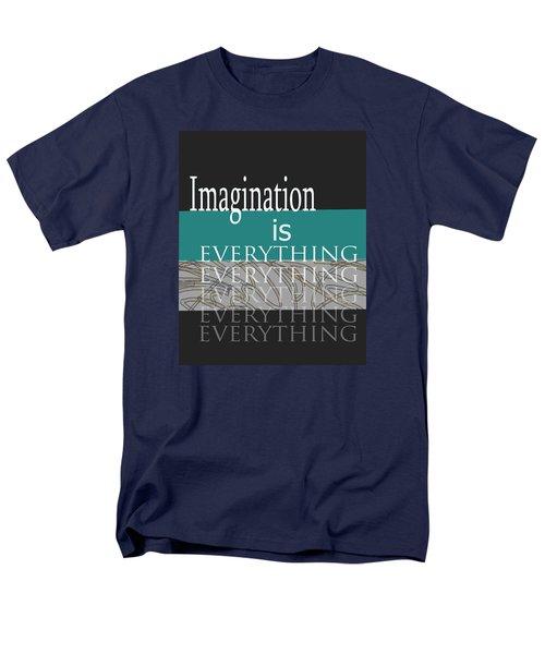 Imagination Men's T-Shirt  (Regular Fit) by Ann Powell