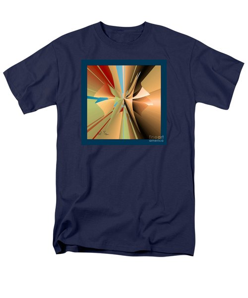 Men's T-Shirt  (Regular Fit) featuring the digital art Imperfection And Harmony by Leo Symon