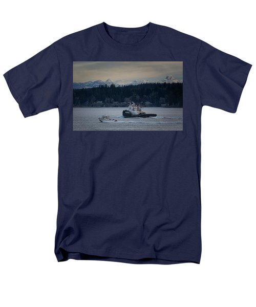 Men's T-Shirt  (Regular Fit) featuring the photograph Inlet Crusader by Randy Hall
