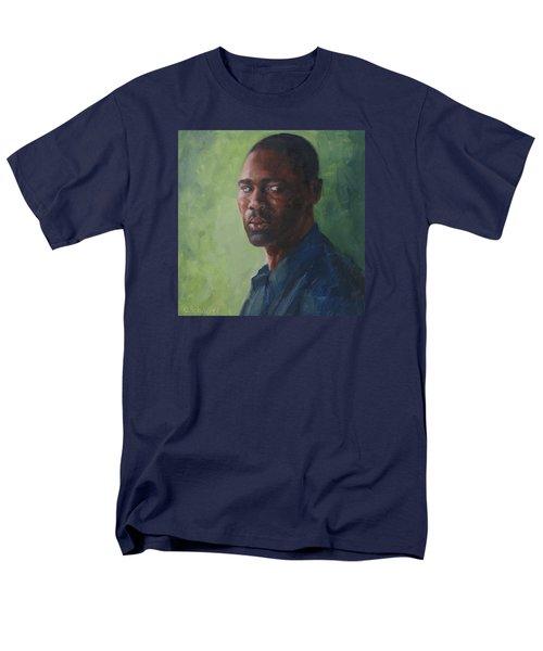 Intense Gaze Men's T-Shirt  (Regular Fit) by Connie Schaertl