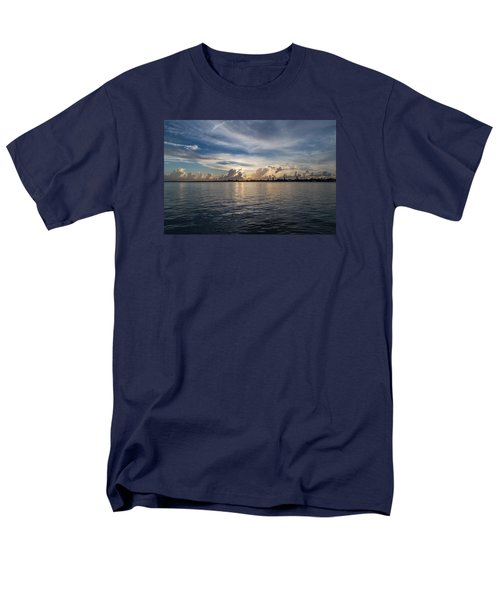 Island Horizon Men's T-Shirt  (Regular Fit) by Christopher L Thomley