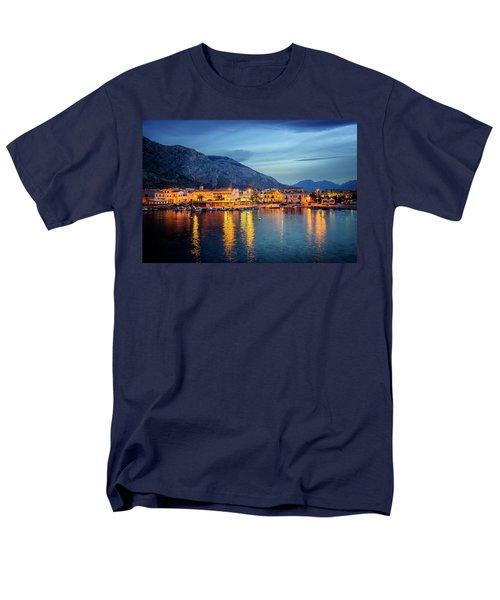 Isola Delle Femmine Harbour Men's T-Shirt  (Regular Fit) by Ian Good