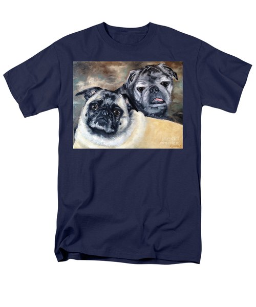 Men's T-Shirt  (Regular Fit) featuring the painting Jack And Bella by Diane Daigle