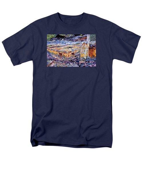 Jamestown Sea Construction Site Men's T-Shirt  (Regular Fit) by Robert SORENSEN