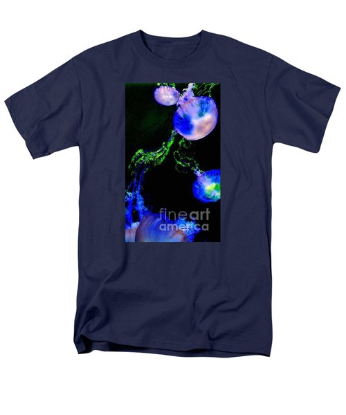 Men's T-Shirt  (Regular Fit) featuring the photograph Jellylights by Vanessa Palomino