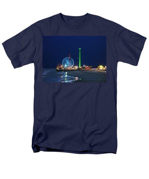 Jersey Shore Men's T-Shirt  (Regular Fit) by Steve Karol