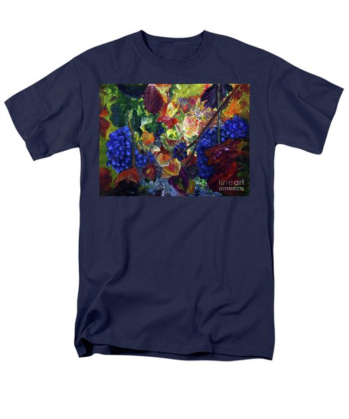 Katy's Grapes Men's T-Shirt  (Regular Fit) by Donna Walsh